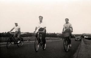 Cycling, London, 1950