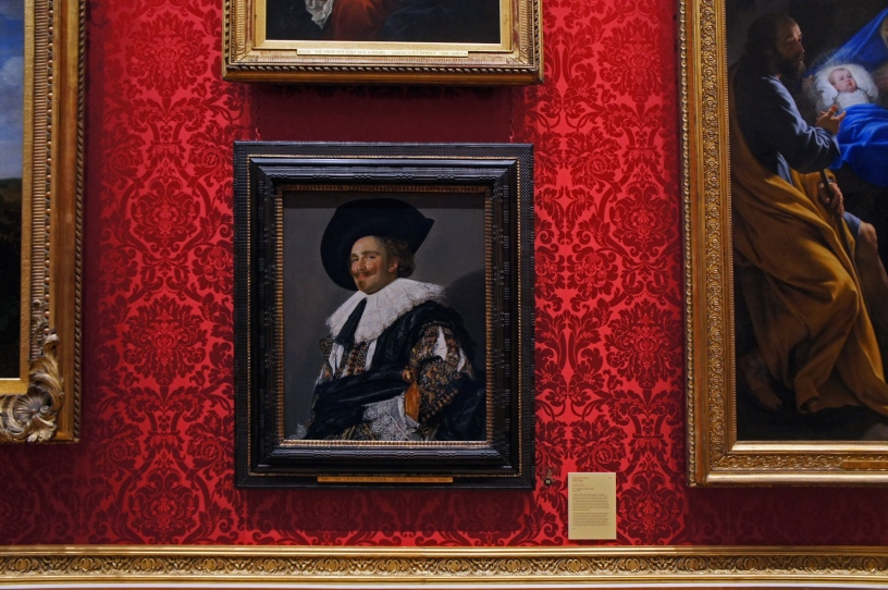 The Laughing Cavalier by Frans Hals from the Walace Collection. Photo by Simon Wilder