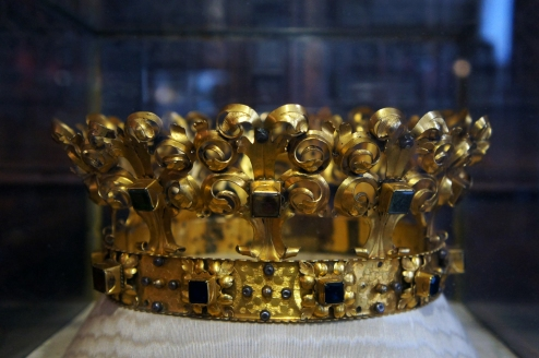 A crown from the Walace Collection. Photo by Simon Wilder