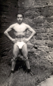 My father in 1947